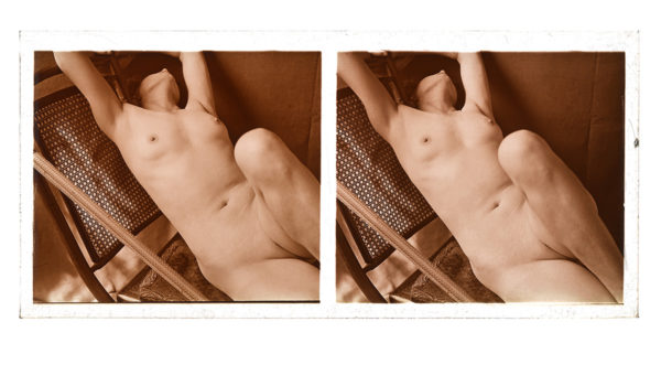 Nude Pose Stereo #3