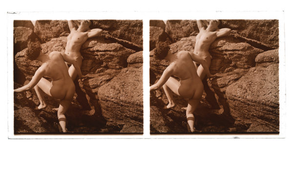 Nude Pose Stereo #2