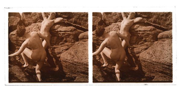 Nude Pose Stereo #2