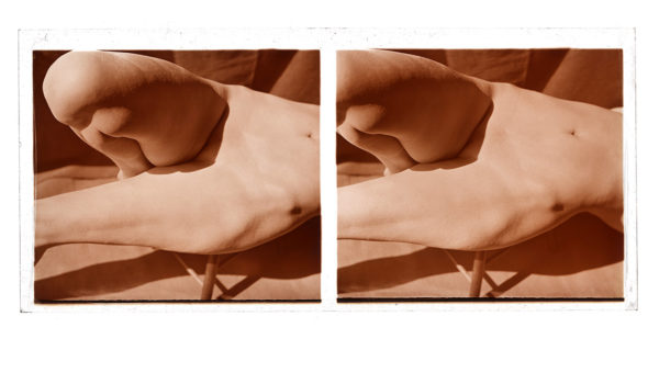 Nude Pose Stereo #1