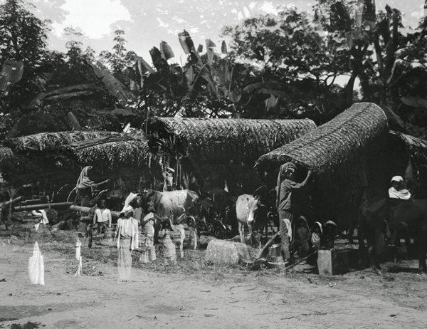 Ceylon Kandy Double Exposure