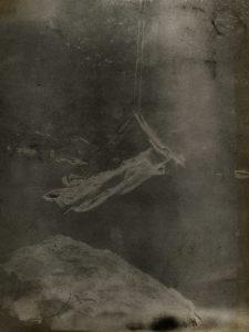 Solarized Woman in a Swing