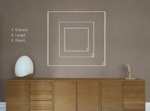 sizes squares