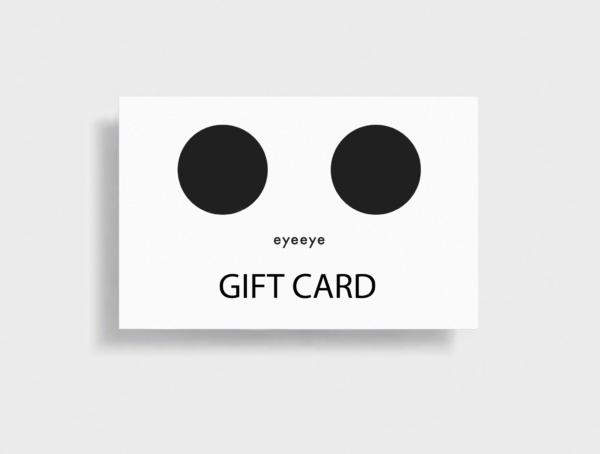eyeeye gift card